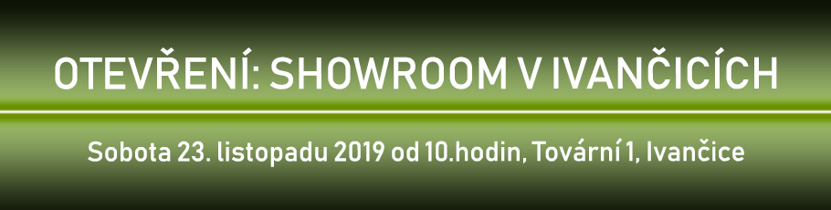 Otevření: Showroom v Ivančicích