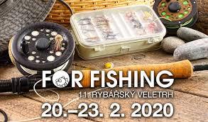 Soutěž o lístky na veletrh For Fishing 2020 - SOUTĚŽ UKONČENA