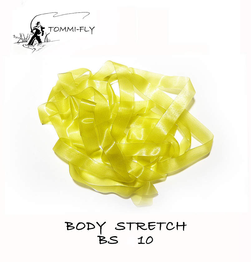 Body stretch - žlutozelená