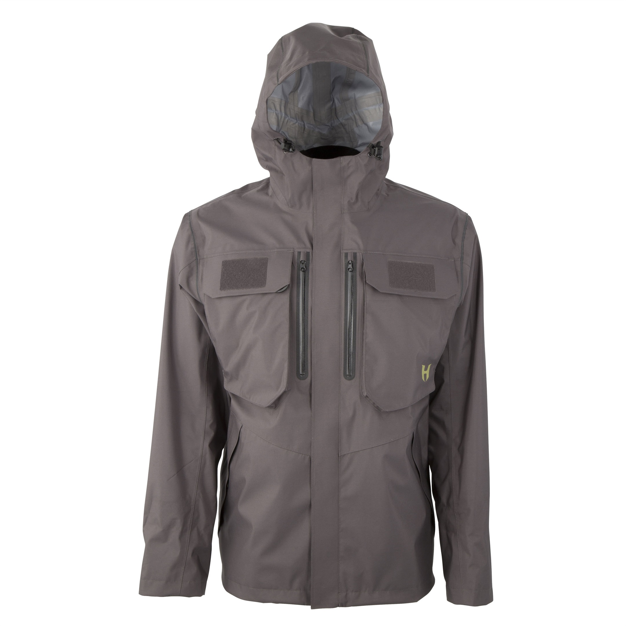 HODGMAN - Aesis Shell Jacket Charcoal/Black