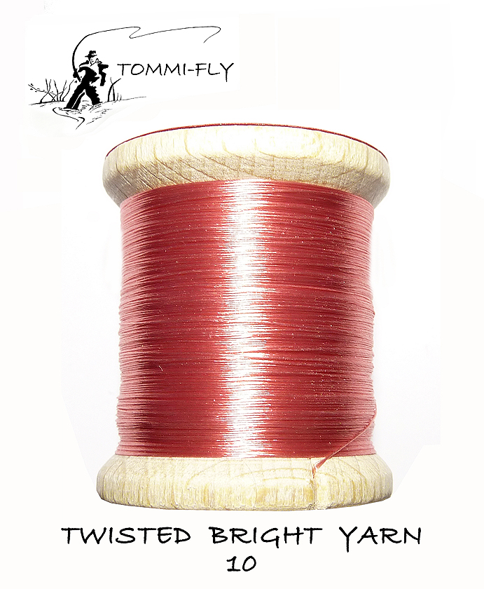 Twisted bright yarn - Růžová - TBY10