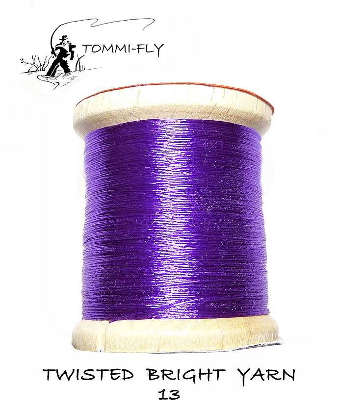 Twisted bright yarn - Fialová - TBY13