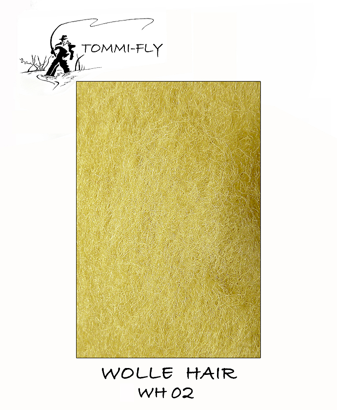 Wolle hair - olivová