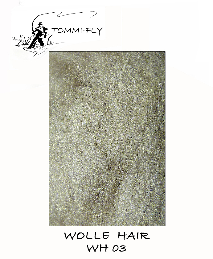 WOLL HAIR - šedá