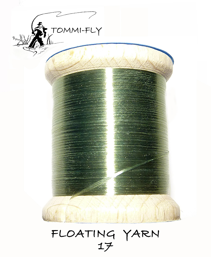 Floating yarn -   zelená hydropsycha - FLY17