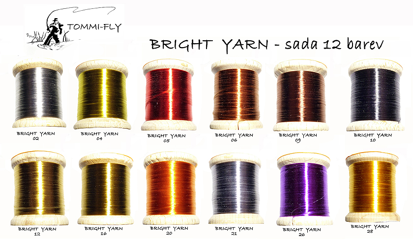 BRIGHT YARN - sada 12 barev