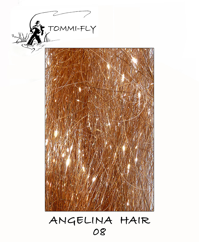 ANGELINA HAIR - měděná