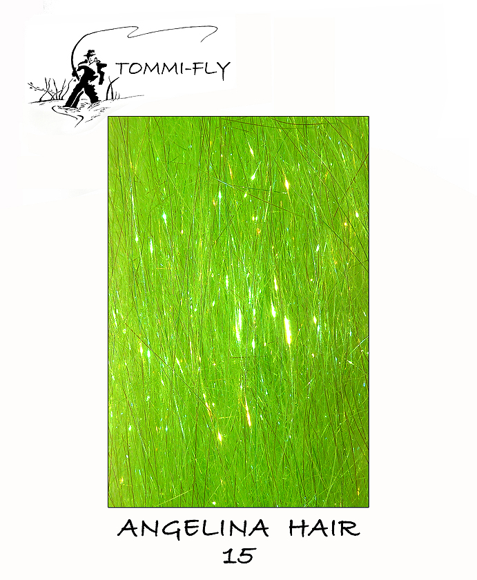 ANGELINA HAIR - fluo zelená