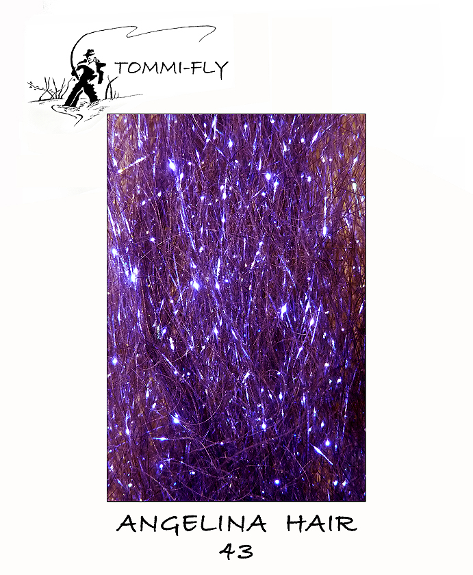 Angelina hair - ultra violet