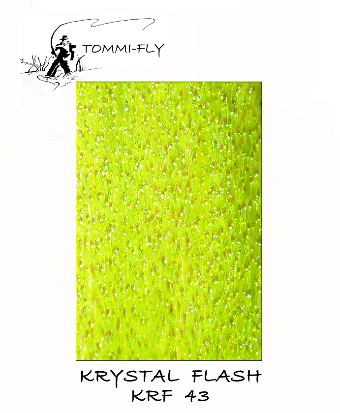KRYSTAL FLASH - fluo žlutá