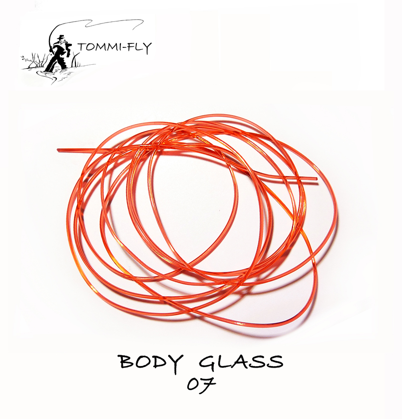 BODY GLASS - červená