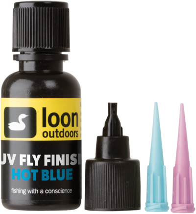LOON Outdoors - UV Fly Finish HOT BLUE