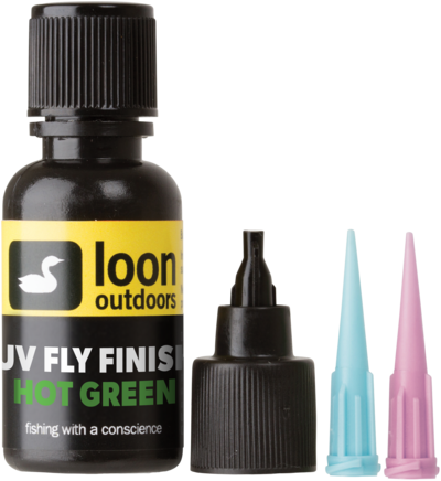 LOON Outdoors - UV Fly Finish HOT GREEN