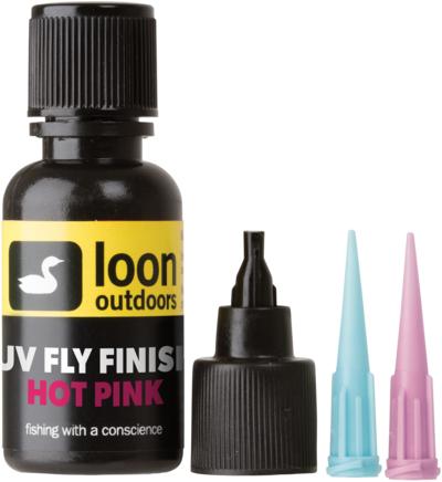 LOON Outdoors - UV Fly Finish HOT PINK