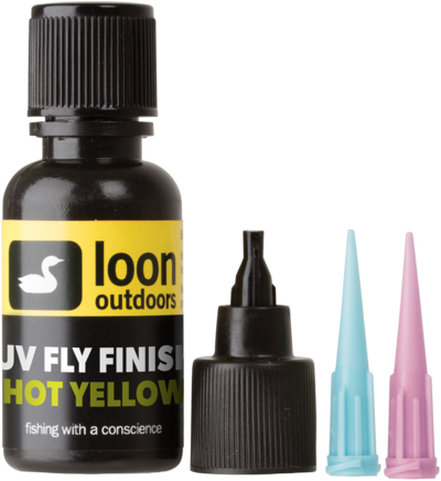 LOON Outdoors - UV Fly Finish HOT YELLOW