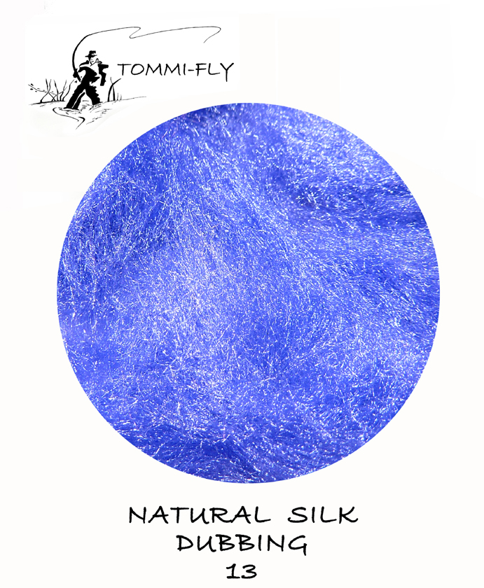 Natural SILK dubbing - fialová