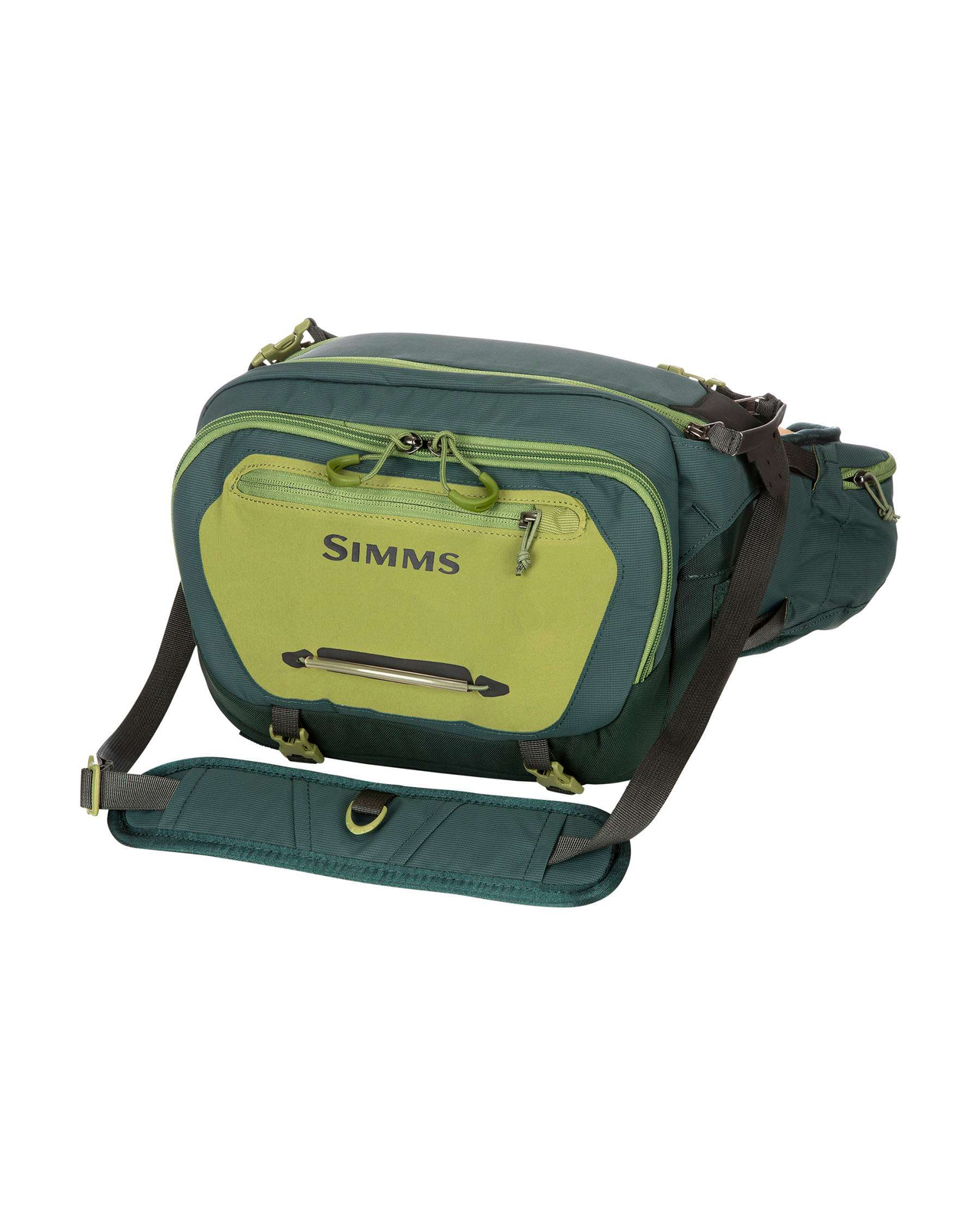 Simms Ledvinka Freestone Hip Pack Shadow, Green