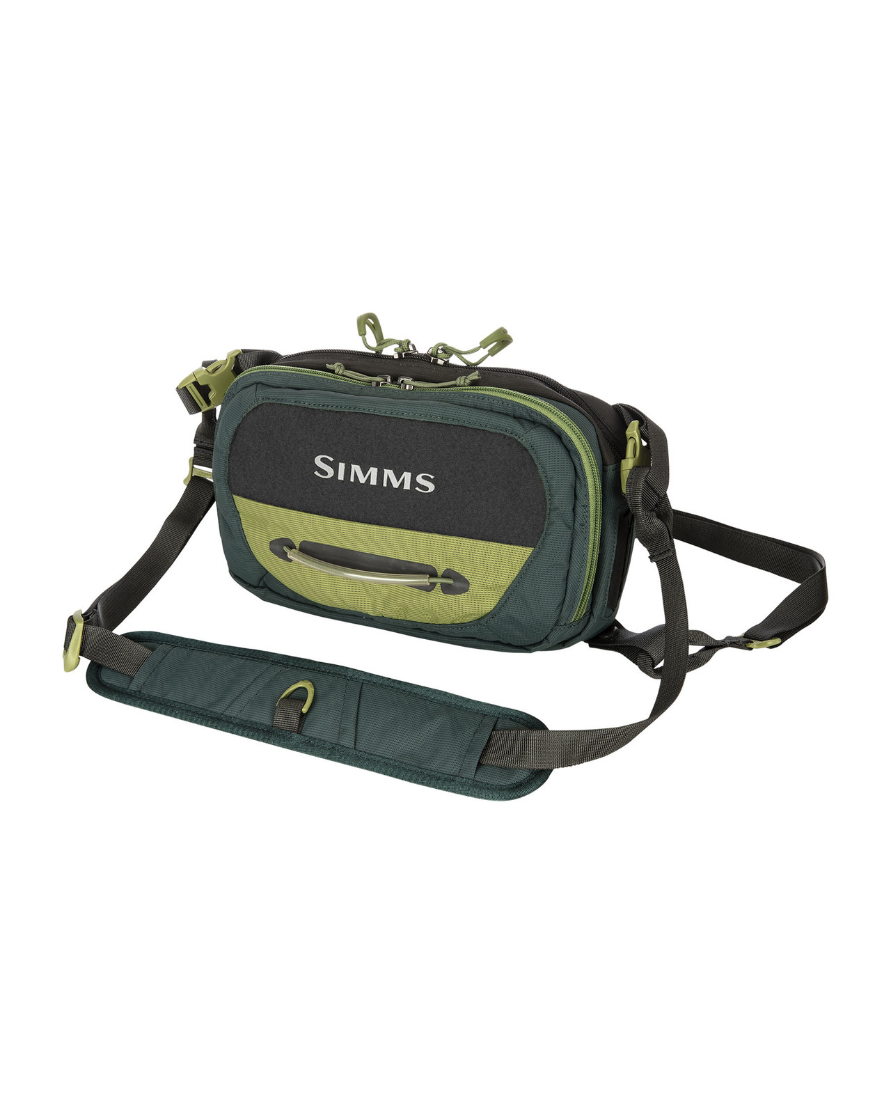 Simms Taška Freestone Chest Pack Shadow, Green