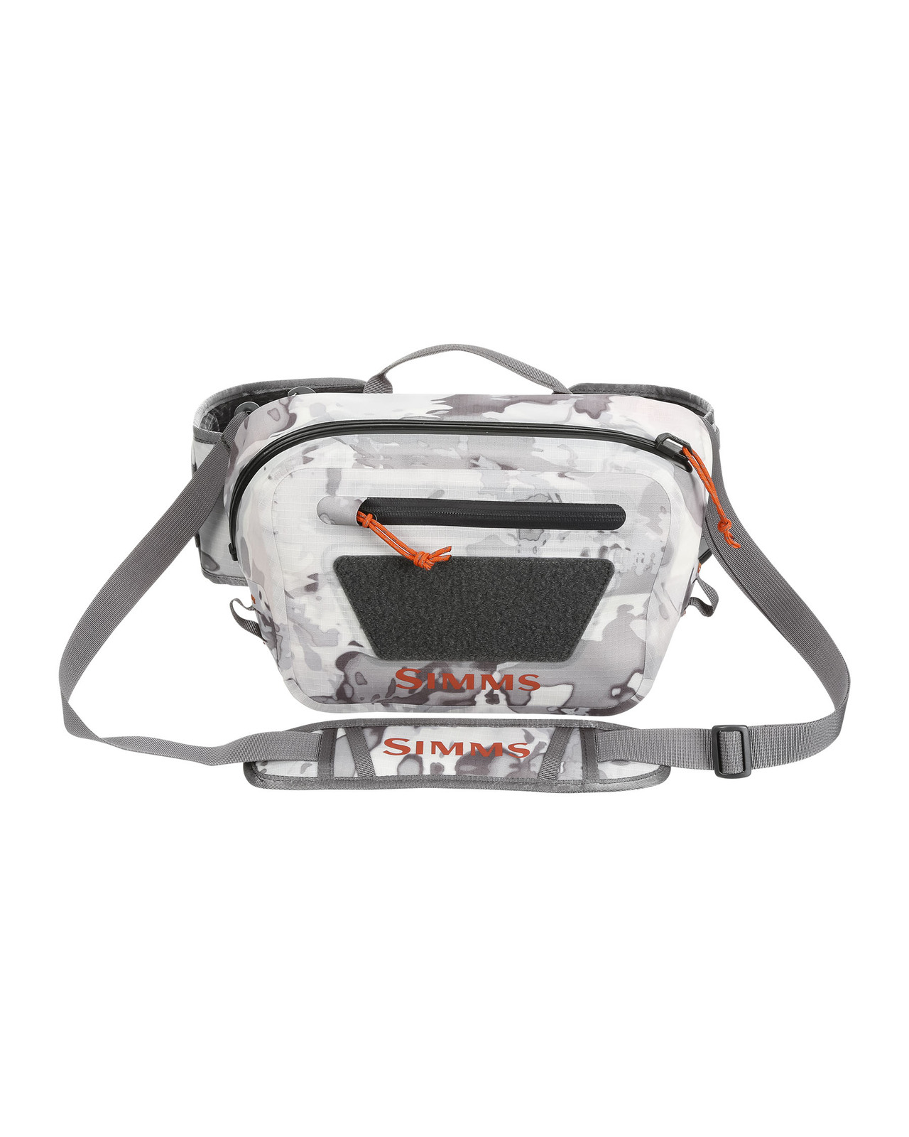 Simms Ledvinka Dry Creek Z Hip Pack, Cloud Camo Grey