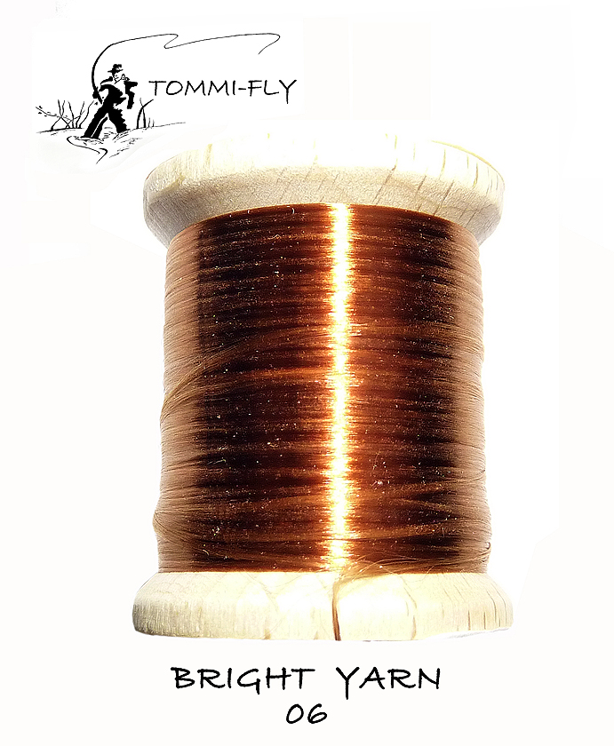 BRIGHT YARN - měděná