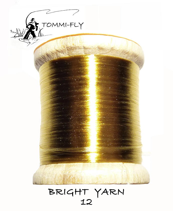 BRIGHT YARN - zlatá