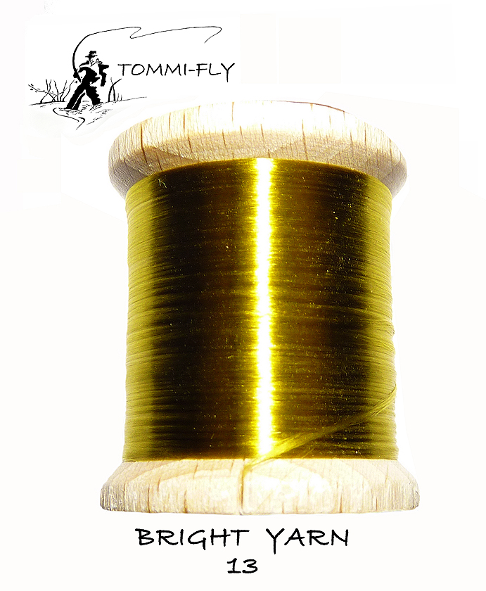 BRIGHT YARN - olivová