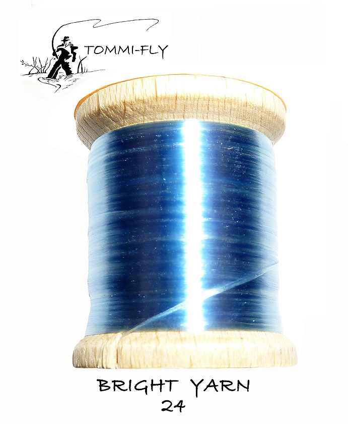 BRIGHT YARN - sv. modrá