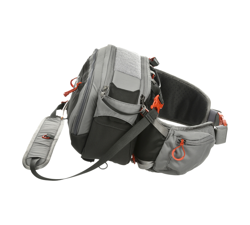 Simms Ledvinka Freestone Hip Pack, Steel
