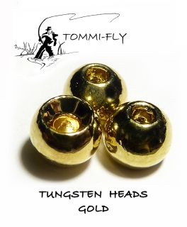 Tungsten head - Zlatá