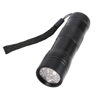 Baterka led UV 12 diod